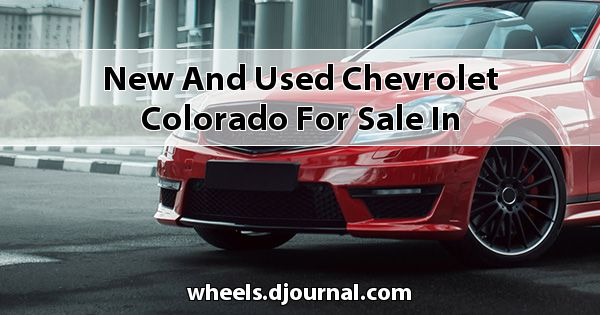 New and Used Chevrolet Colorado for sale in Mississippi