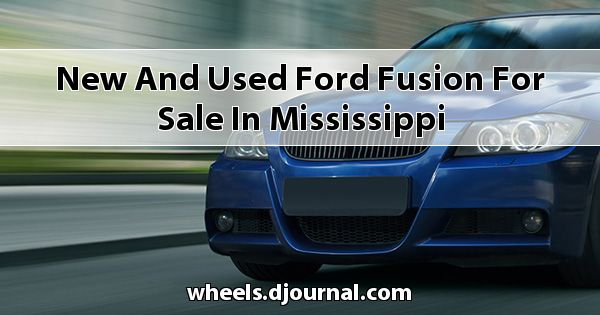 New and Used Ford Fusion for sale in Mississippi