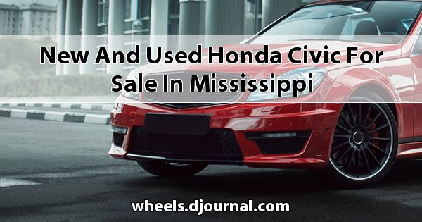 New and Used Honda Civic for sale in Mississippi