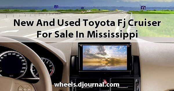 New and Used Toyota FJ Cruiser for sale in Mississippi