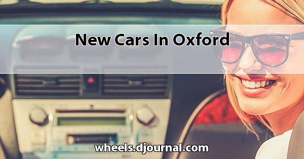 New Cars in Oxford