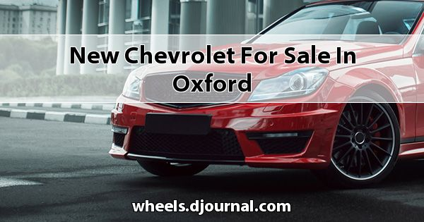 New Chevrolet for sale in Oxford