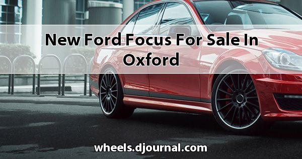 New Ford Focus for sale in Oxford
