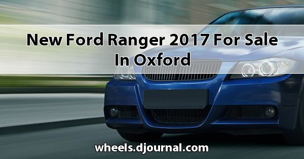 New Ford Ranger 2017 for sale in Oxford