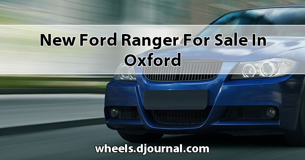 New Ford Ranger for sale in Oxford