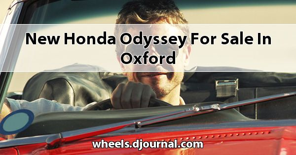New Honda Odyssey for sale in Oxford