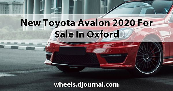 New Toyota Avalon 2020 for sale in Oxford