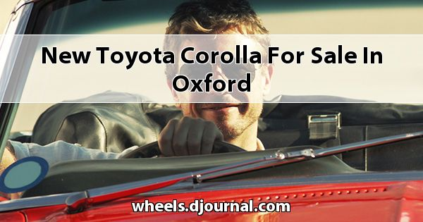New Toyota Corolla for sale in Oxford