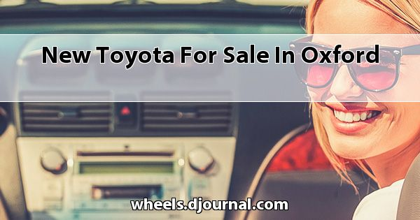 New Toyota for sale in Oxford