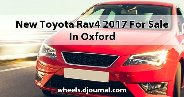 New Toyota RAV4 2017 for sale in Oxford