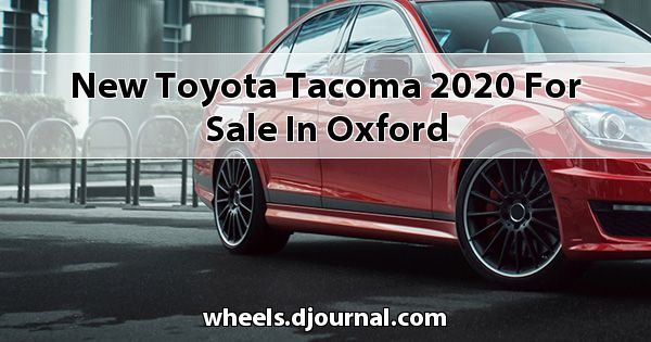 New Toyota Tacoma 2020 for sale in Oxford