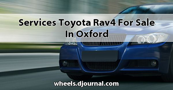 Services Toyota RAV4 for sale in Oxford