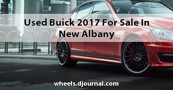 Used Buick 2017 for sale in New Albany