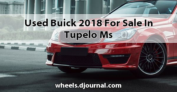Used Buick 2018 for sale in Tupelo, MS