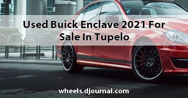 Used Buick Enclave 2021 for sale in Tupelo