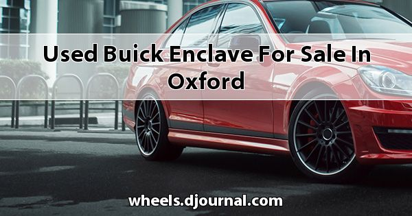 Used Buick Enclave for sale in Oxford