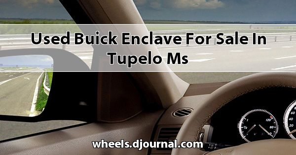 Used Buick Enclave for sale in Tupelo, MS