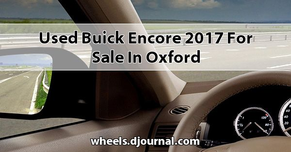 Used Buick Encore 2017 for sale in Oxford