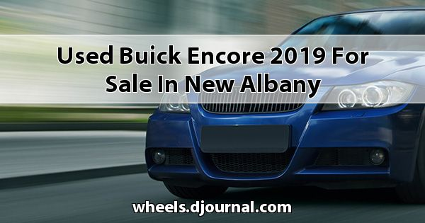Used Buick Encore 2019 for sale in New Albany