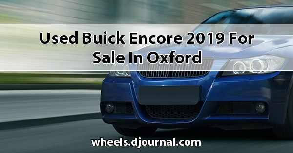 Used Buick Encore 2019 for sale in Oxford