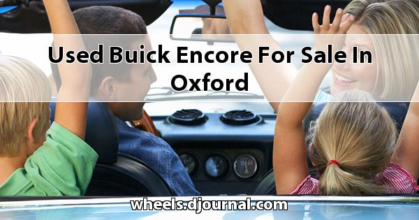 Used Buick Encore for sale in Oxford