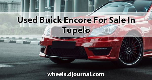 Used Buick Encore for sale in Tupelo