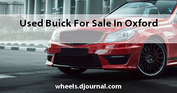 Used Buick for sale in Oxford