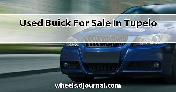 Used Buick for sale in Tupelo