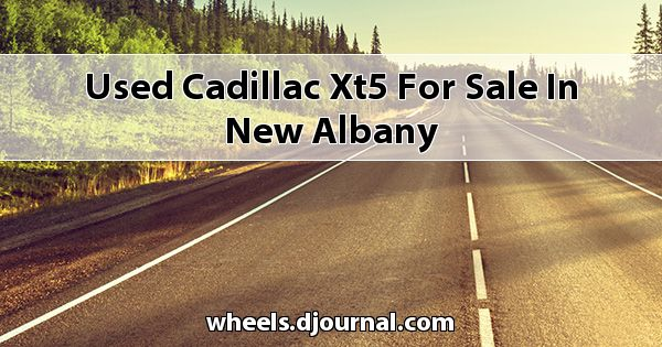 Used Cadillac XT5 for sale in New Albany