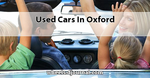Used Cars in Oxford