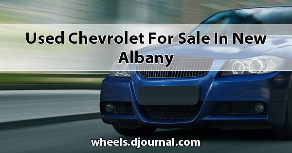 Used Chevrolet for sale in New Albany