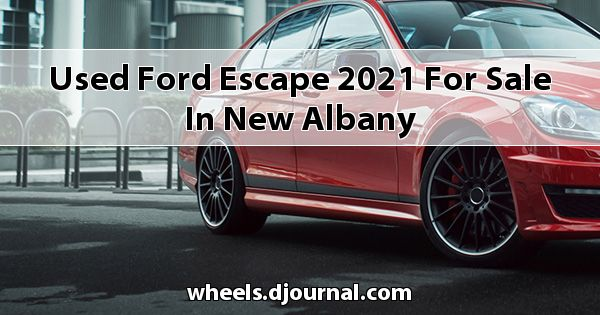 Used Ford Escape 2021 for sale in New Albany