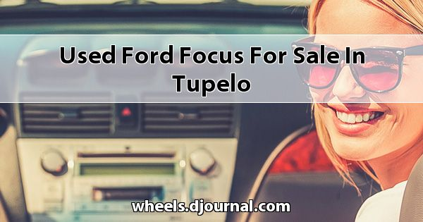 Used Ford Focus for sale in Tupelo