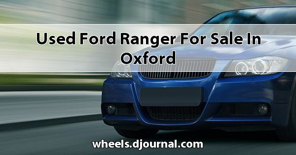 Used Ford Ranger for sale in Oxford
