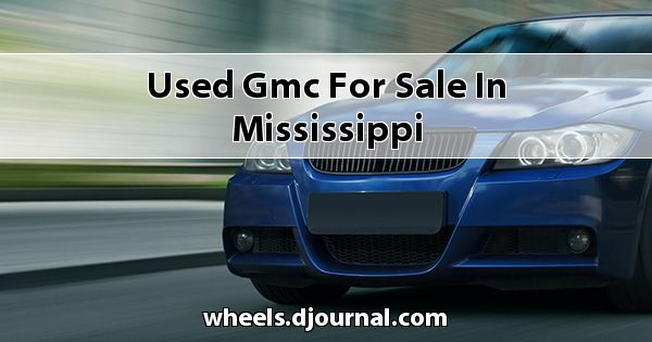 Used GMC for sale in Mississippi
