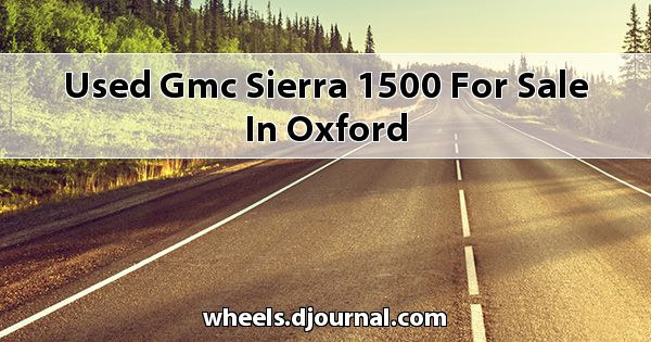 Used GMC Sierra 1500 for sale in Oxford