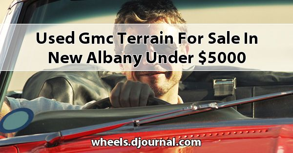 Used GMC Terrain for sale in New Albany under $5000