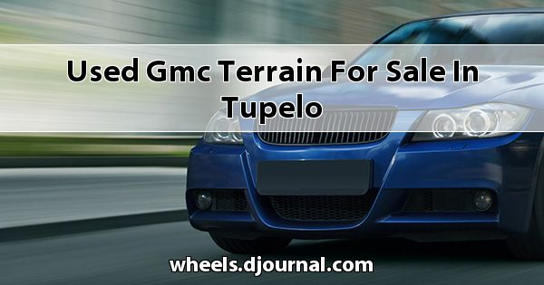 Used GMC Terrain for sale in Tupelo