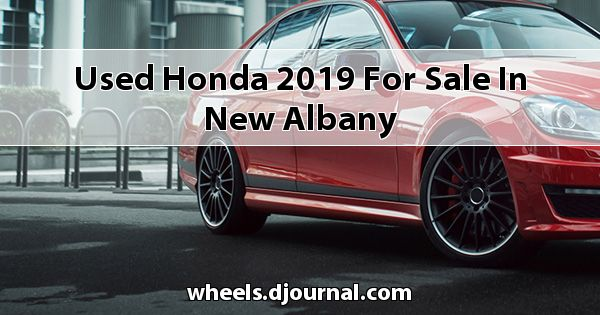 Used Honda 2019 for sale in New Albany