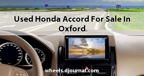 Used Honda Accord for sale in Oxford