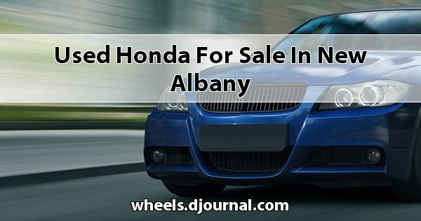 Used Honda for sale in New Albany