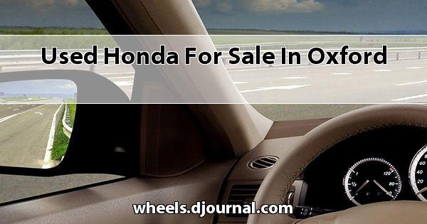 Used Honda for sale in Oxford