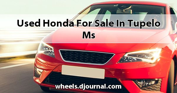 Used Honda for sale in Tupelo, MS
