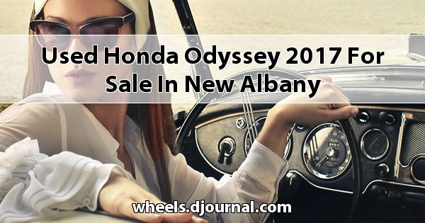 Used Honda Odyssey 2017 for sale in New Albany
