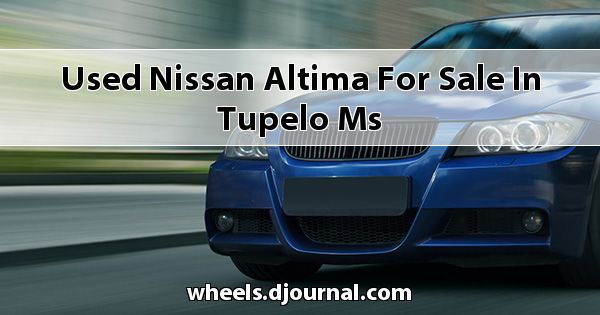 Used Nissan Altima for sale in Tupelo, MS