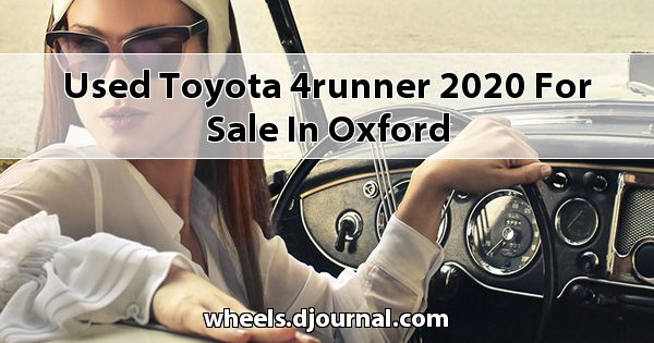 Used Toyota 4Runner 2020 for sale in Oxford