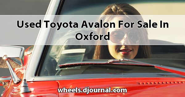 Used Toyota Avalon for sale in Oxford