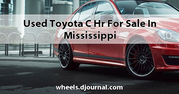 Used Toyota C-HR for sale in Mississippi