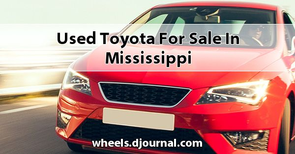 Used Toyota for sale in Mississippi