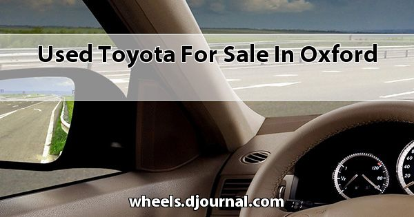 Used Toyota for sale in Oxford